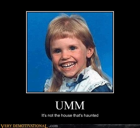 eww haunted kid Photo teeth - 4631417600