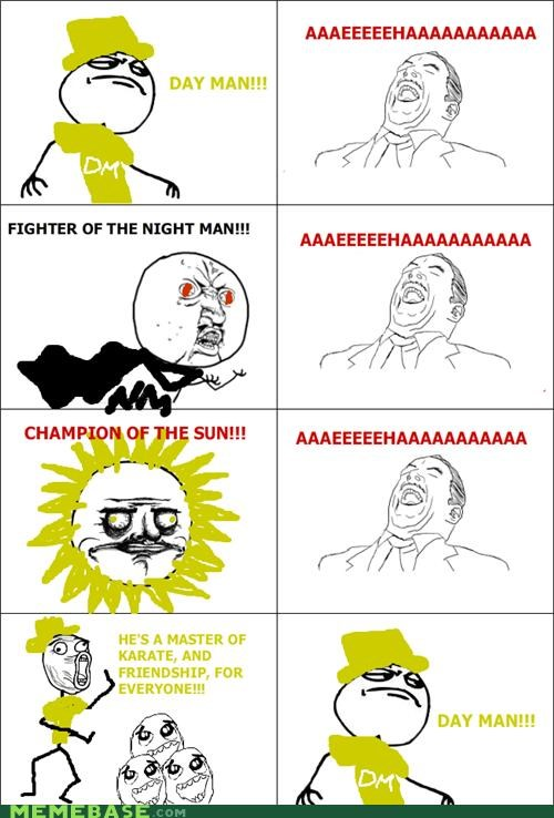 always sunny dayman nightman Rage Comics television - 4631502336