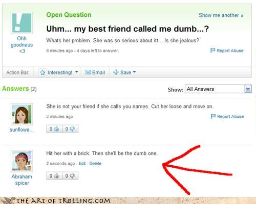 dumb friends jethro tull Music thick as a brick Yahoo Answer Fails - 4631629568