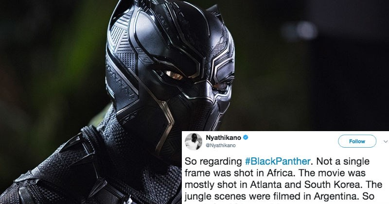 Guy complains about the accuracy of the Black Panther movie on Twitter, and gets dragged for it.
