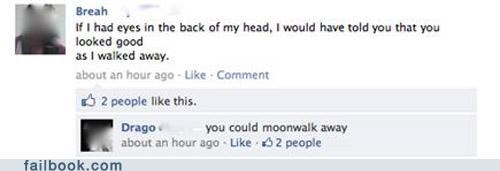 moonwalk,status quote,witty reply
