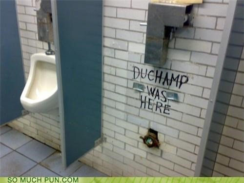 duchamp graffiti graffito missing note the fountain urinal