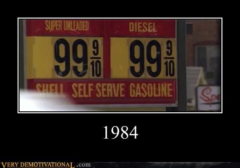 1984 gas low prices
