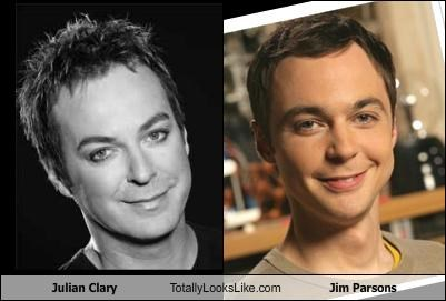 actors,comedians,jim parsons,Julian Clary,the big bang theory