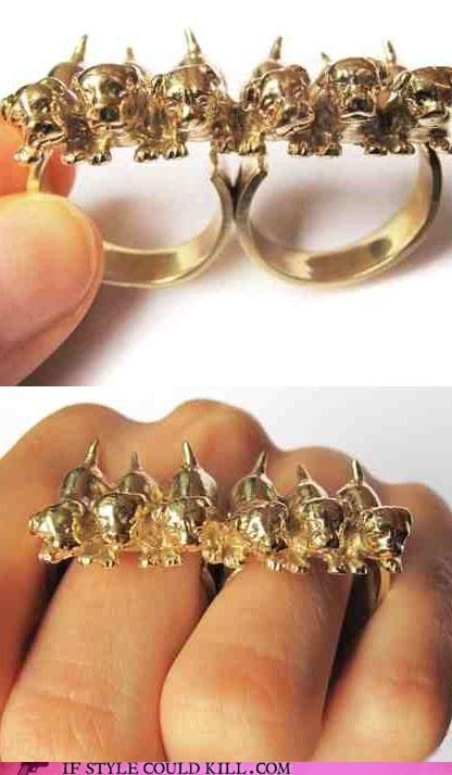 cool accessories dogs ring of the day rings vera balyura - 4632772352