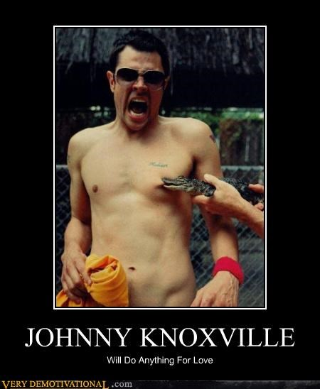 crocodile johnny knoxville love nipple
