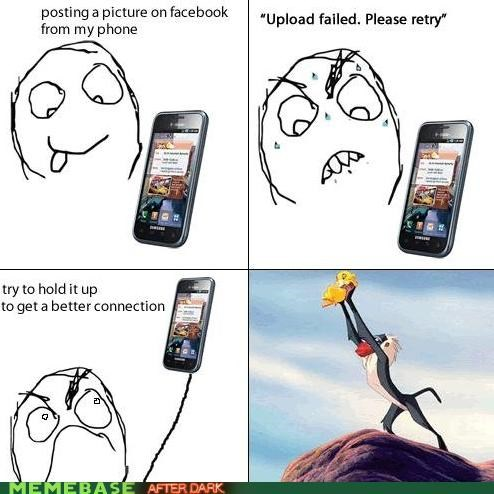 lion king movies phones Rage Comics
