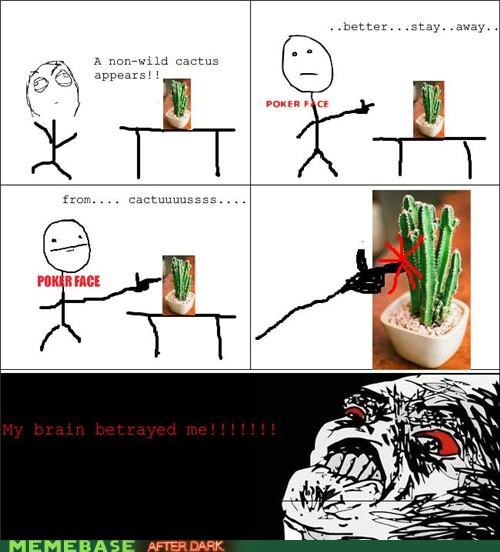 brain,cactus,Rage Comics,raisins-super-fuuuu,touch,troll