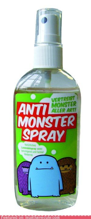 anti-monster monster scented spray weapon - 4633766400