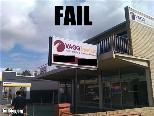 bad idea company name failboat lady business signs - 4633771776