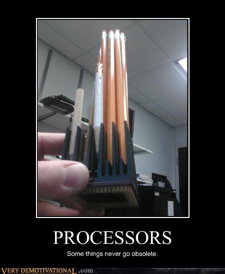 computer obsolete pencils processors - 4634123776