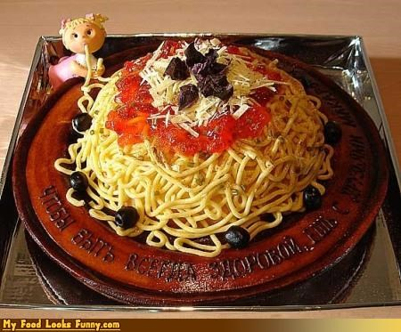 baby cake mountain pasta russian spaghetti - 4634422016