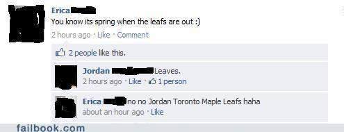 grammar nazi fail hockey spelling - 4634436608