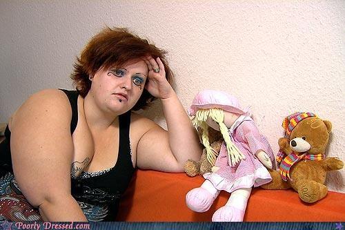 eyeliner makeup stuffed animals thinking hard - 4634480128