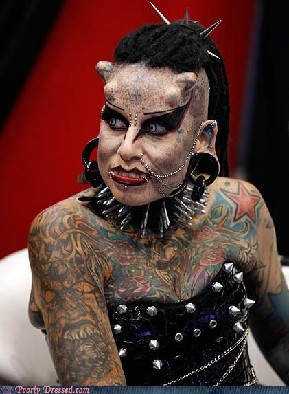 body mod bump piercing tattoo weird wtf