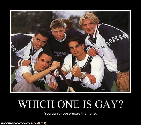 WHICH ONE IS GAY? You can choose more than one.