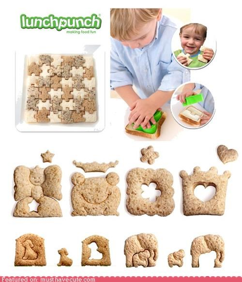 cutters decorative lunch sandwich shapes