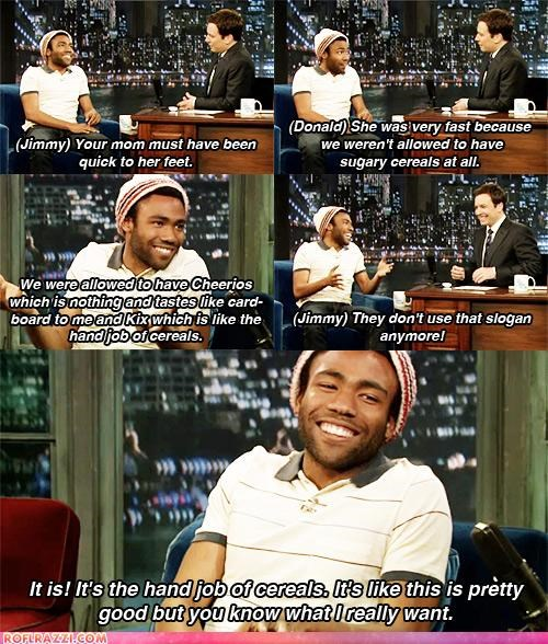 actor,celeb,Donald glover,funny,panel