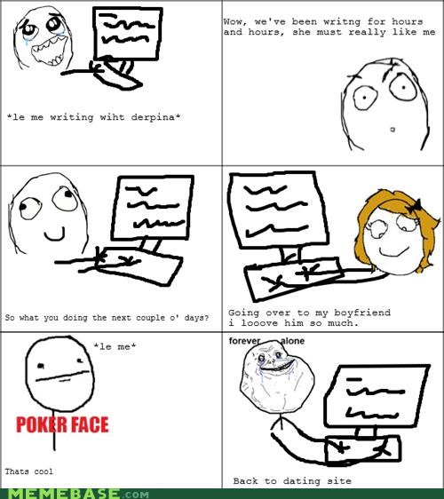 boyfriend computers dating Rage Comics - 4634909696