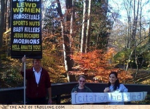 bible citation IRL mormons Protest wikipedia - 4634916608