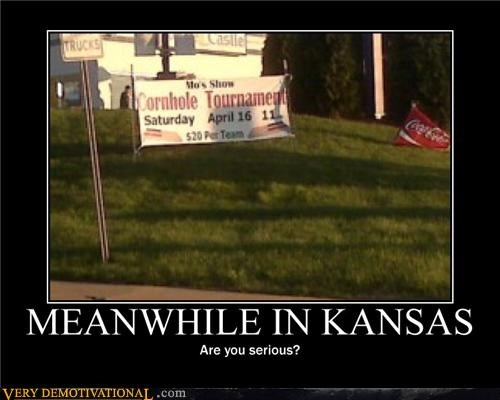 cornhole,Kansas,Meanwhile