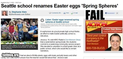 easter,failboat,holiday,newspaper,oh washington,Probably bad News
