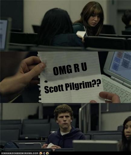 face book Movie scott pilgrim social network - 4635106304