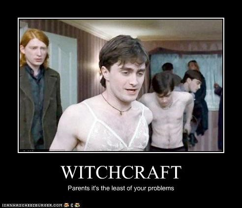WITCHCRAFT Parents it's the least of your problems
