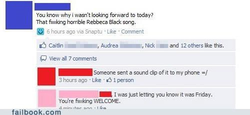 FRIDAY Rebecca Black rickroll - 4635280640