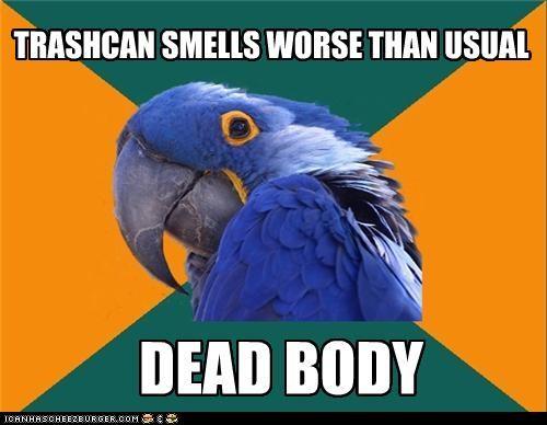 bodies fargo Movie Paranoid Parrot trash - 4635408640
