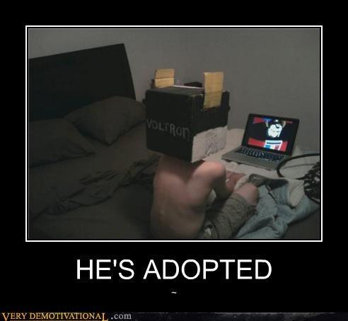 adopted box cartoons voltron - 4636286464