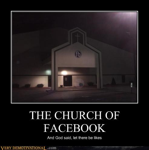 church facebook likes religion