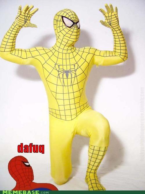 golden huh Memes Spider-Man - 4636626944