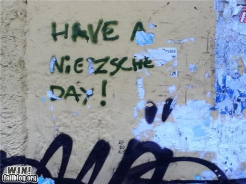 graffiti hacked nietzsche nihilism philosophy - 4637895680