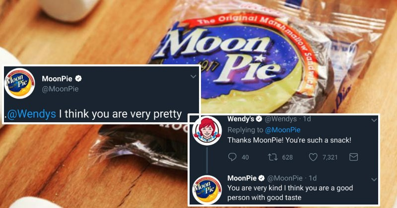 Wendy's and MoonPie are in a wholesome lovefest on Twitter and it's super adorable.