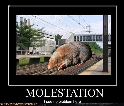 bad touch mole molestation