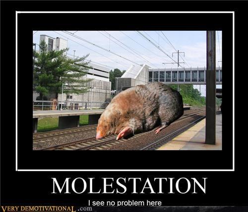 bad touch mole molestation - 4638732032