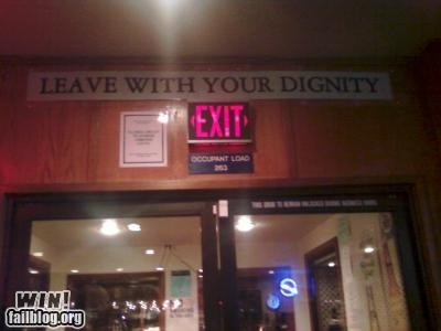 alcohol awesome at work bar dignity drinking signs - 4638775552