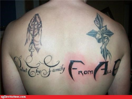 bad wtf text fail funny tattoos - 4639694592