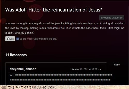 friends hitler jesus neighbors son - 4640103936