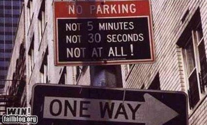 no parking parking sign warning - 4640365824