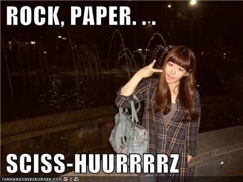 derp,fountain,girl,night,rock paper scissors