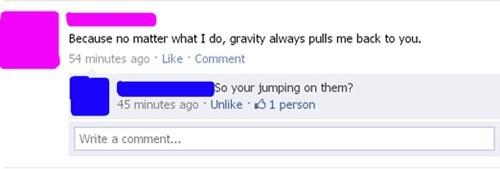 Gravity vaguebooking dating - 4640553472