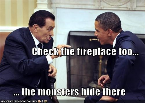 barack obama,Hosni Mubarak,political pictures