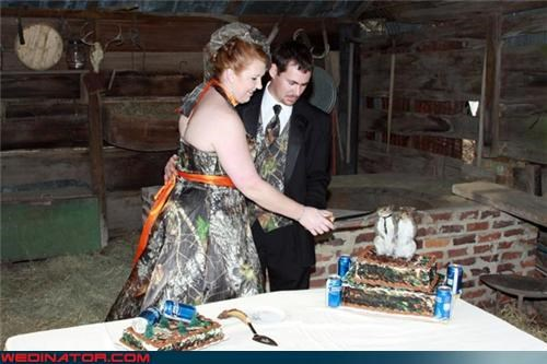 cake toppers funny wedding photos hunting wilderness - 4640759808