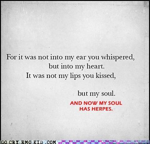 herpes,Sad,soul,STDs