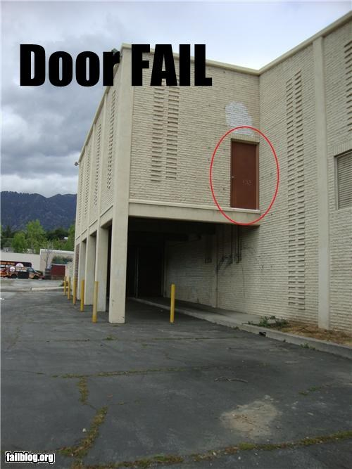 building,door,failboat,g rated,poor planning,why