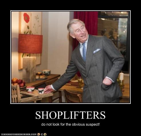 SHOPLIFTERS do not look for the obvious suspect!