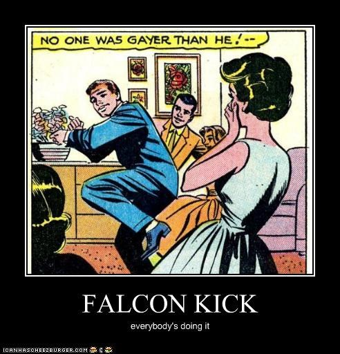 FALCON KICK everybody's doing it