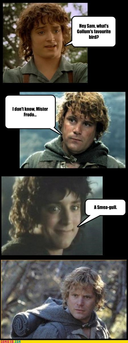 frodo Lord of the Rings pun samwise - 4643644416
